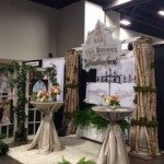 Bridal show Booth by Donna at Out of the Garden
