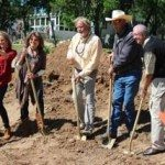 ground breaking w_shovels