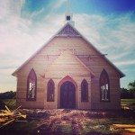 rough but beautiful chapel_ one gable